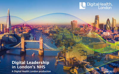 DigitalHealth.London Leadership Report Front Cover