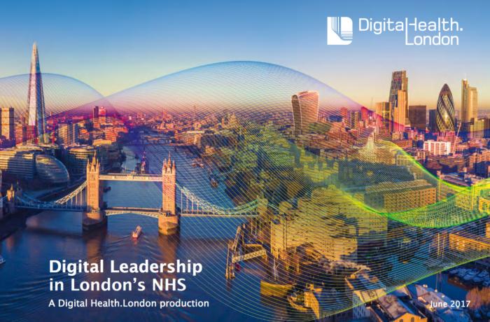 DigitalHealth.London Leadership Report Front Cover
