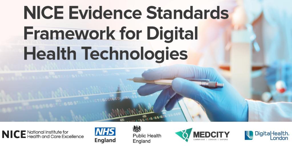 Launch of NICE evidence standards framework for digital health
