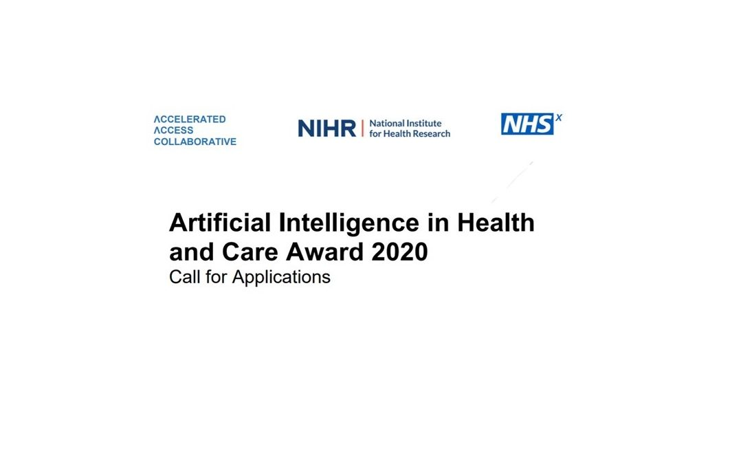 £140 million award to fast track artificial intelligence in the NHS