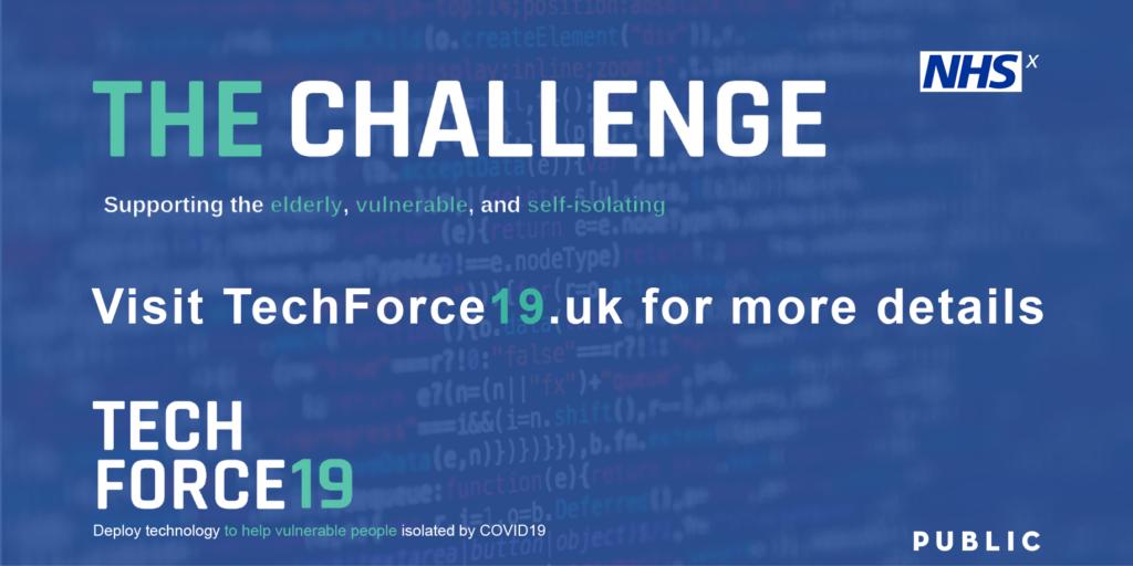 Tech force 19 corona virus digital