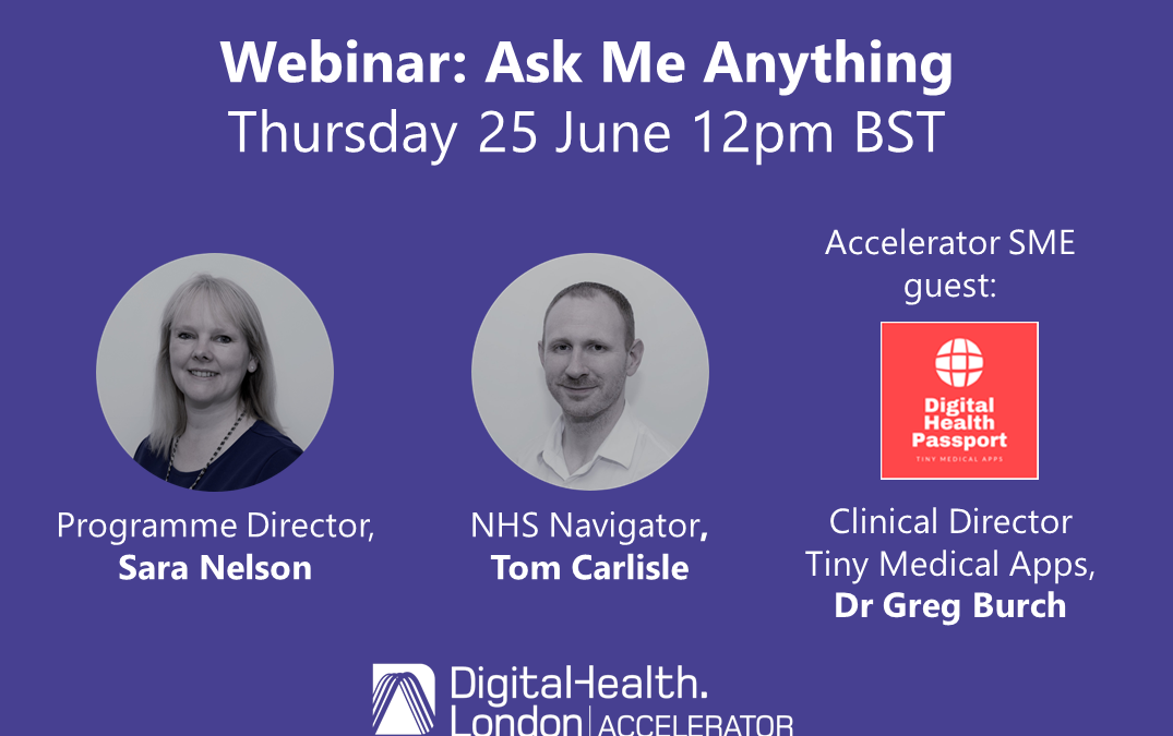 Accelerator Ask Me Anything Webinar