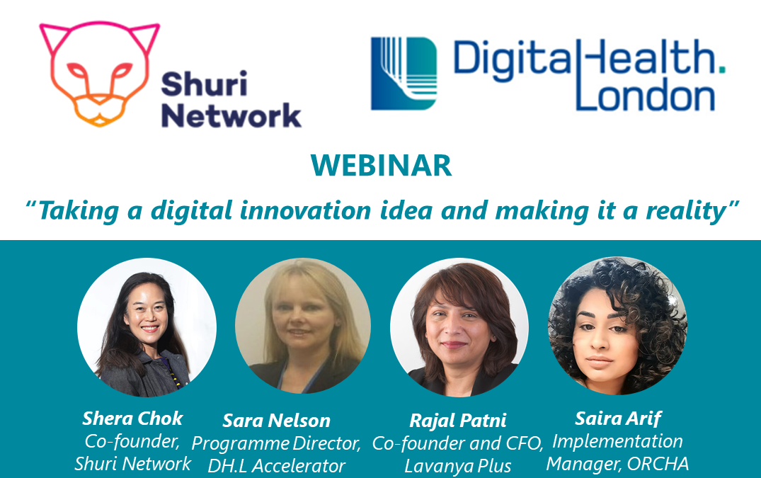 Webinar: Shuri Network and DigitalHealth.London
