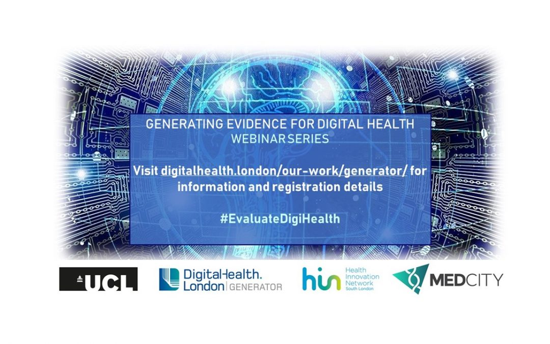Globally Renowned Experts Collaborate for FREE Webinar Series – Generating Evidence for Digital Health