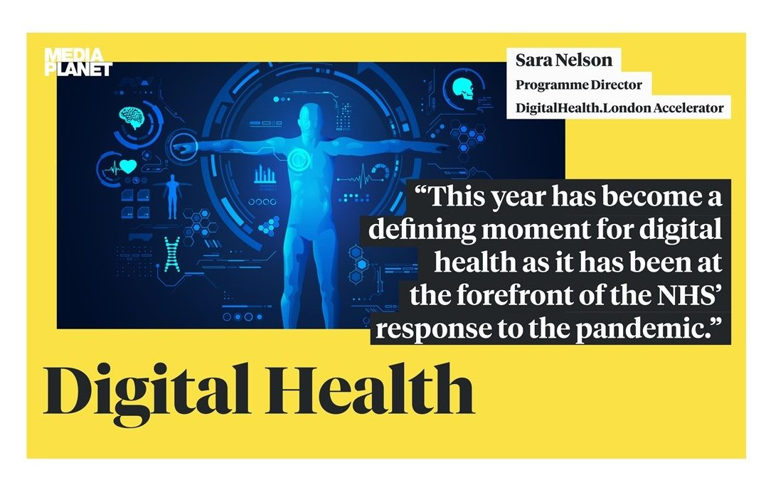 Sara Nelson Features in Digital Health Campaign in Today's Guardian
