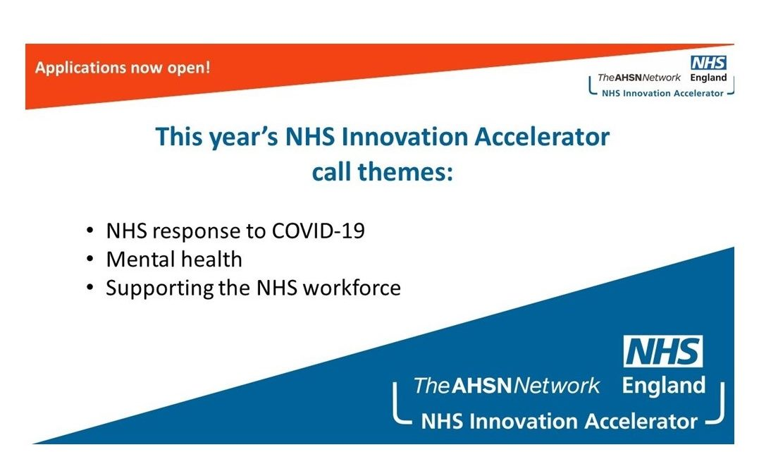 Applications for the NHS Innovation Accelerator (NIA) are now open
