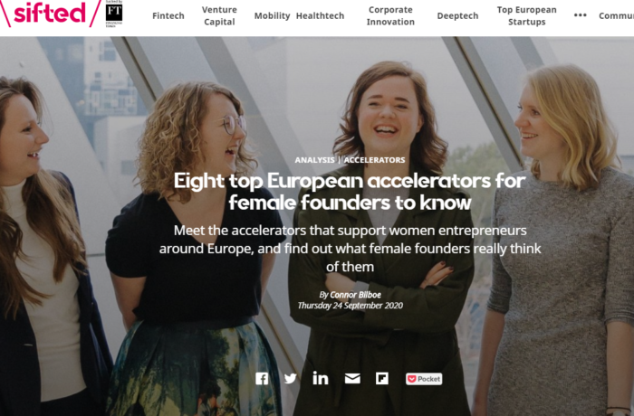 Sifted female founders