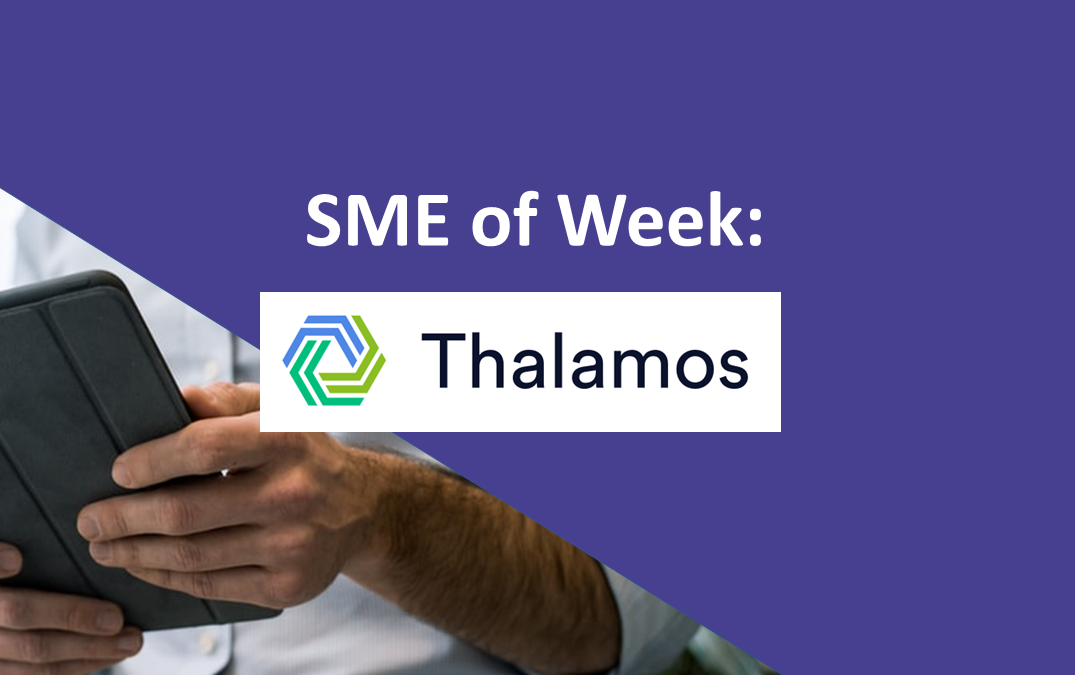 SME of the Week: Thalamos