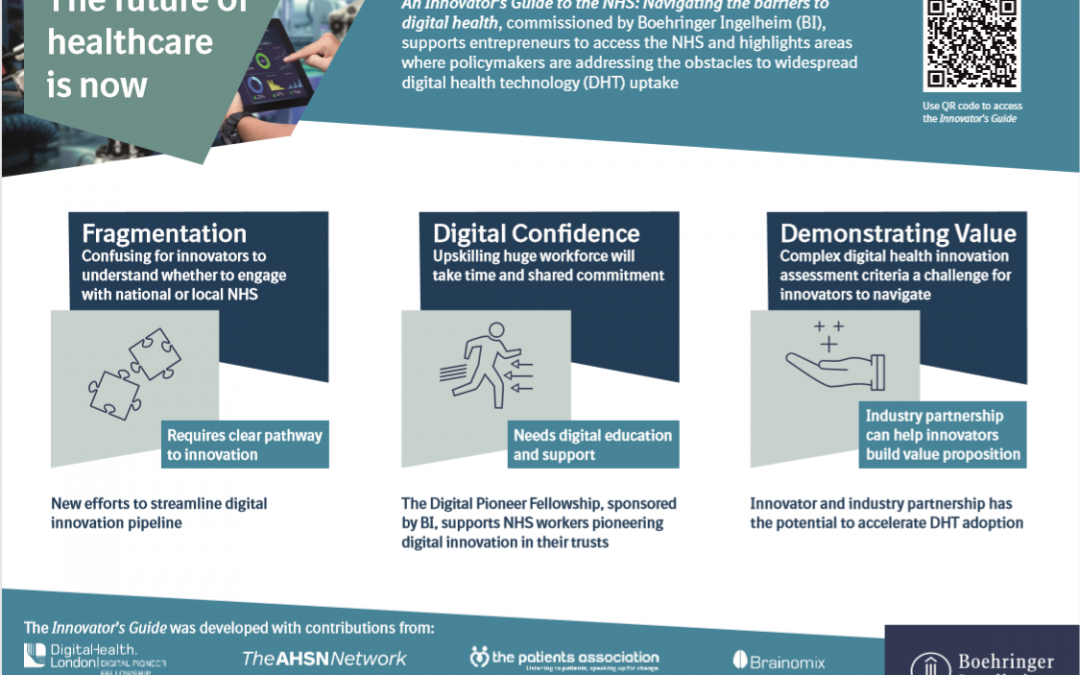 BI launches new guide to help unlock NHS for innovators and accelerate uptake of digital health tech