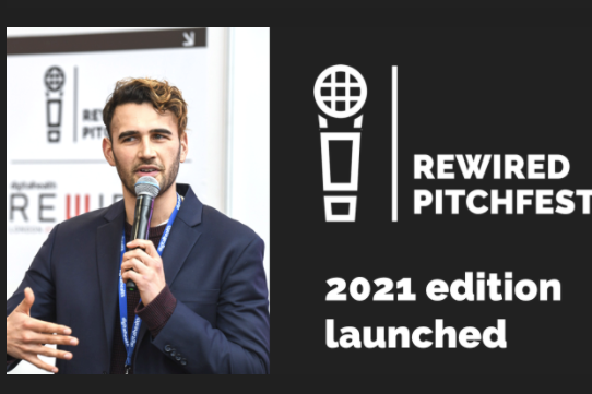 DigitalHealth.London partnering with Rewired Pitchfest 2021