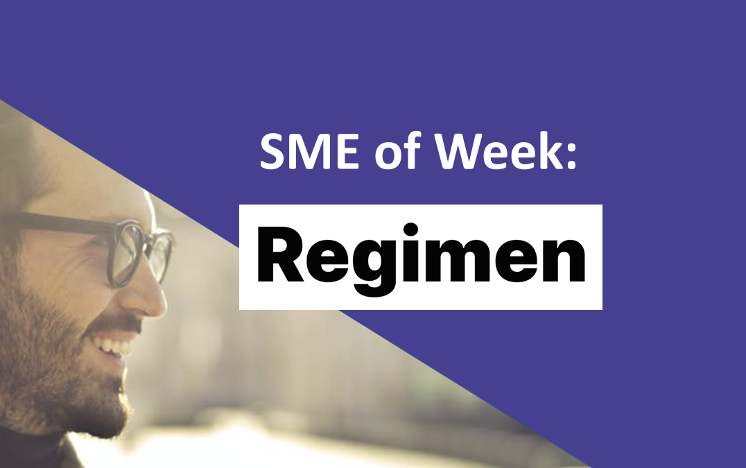 SME of the Week: Regimen – Erection Therapy beyond pills