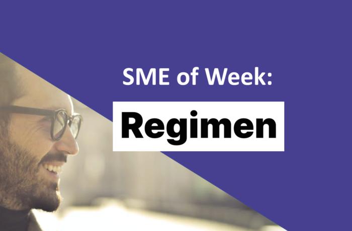 SME of the Week Regimen
