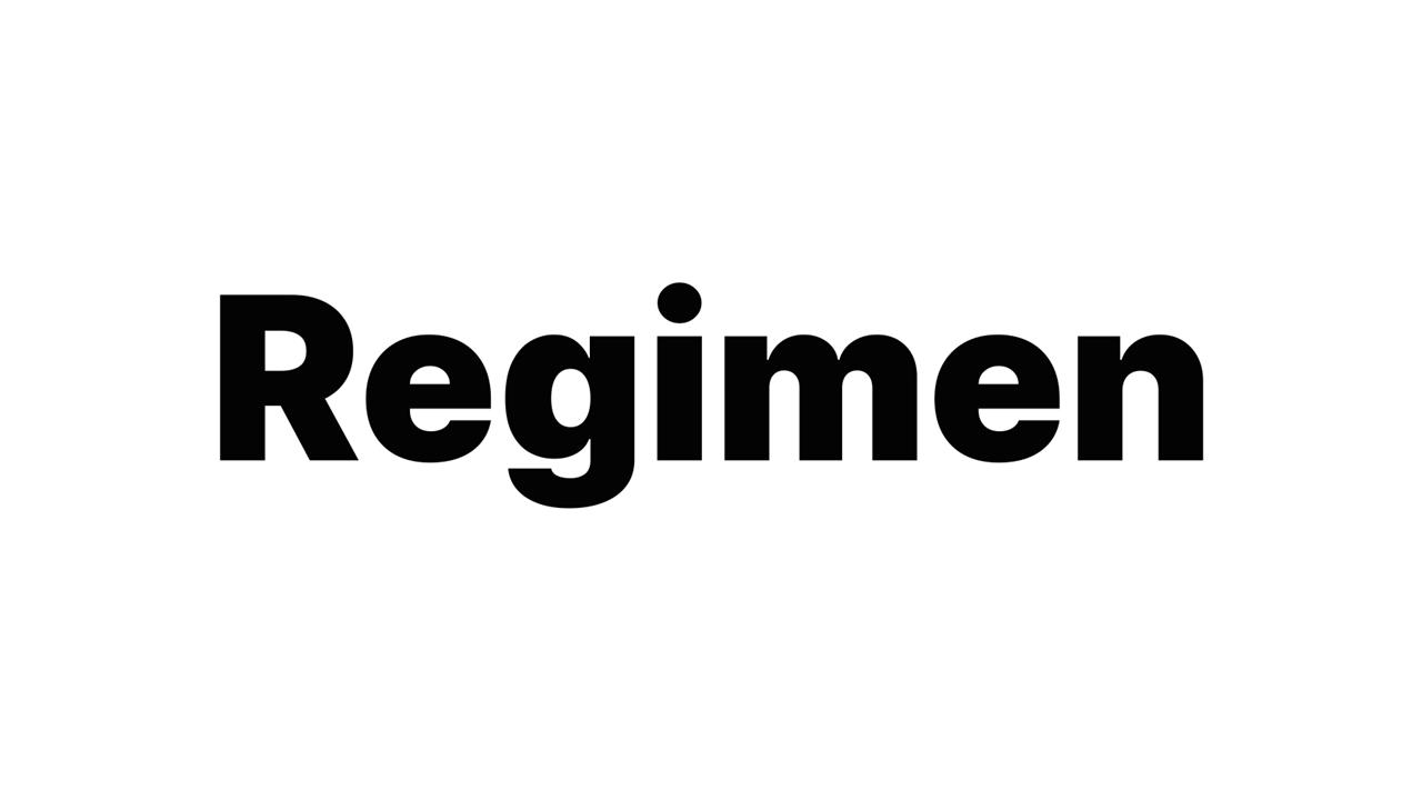 WIth O (Regimen)