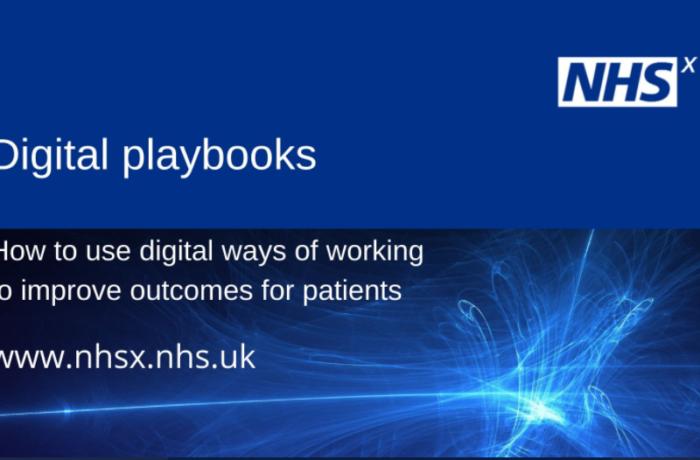 NHSX digital playbooks
