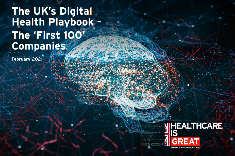 Department of International Trade publishes First 100 UK Digital Health Companies Playbook