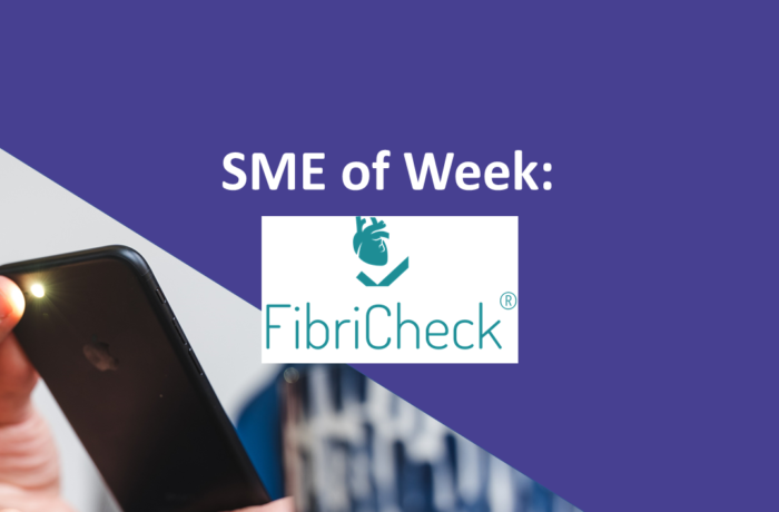 SME of the Week FibriCheck