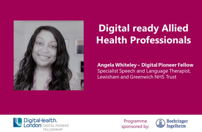 Angela Whiteley Digital Pioneer Fellow