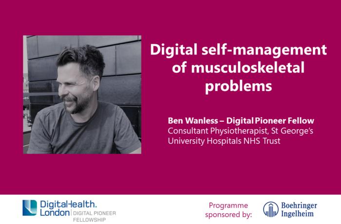 Ben Wanless Digital Pioneer Fellow
