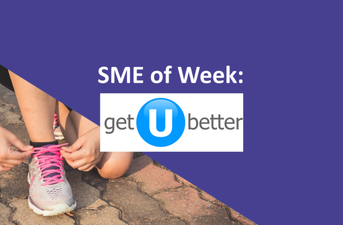 SME of the Week getUBetter