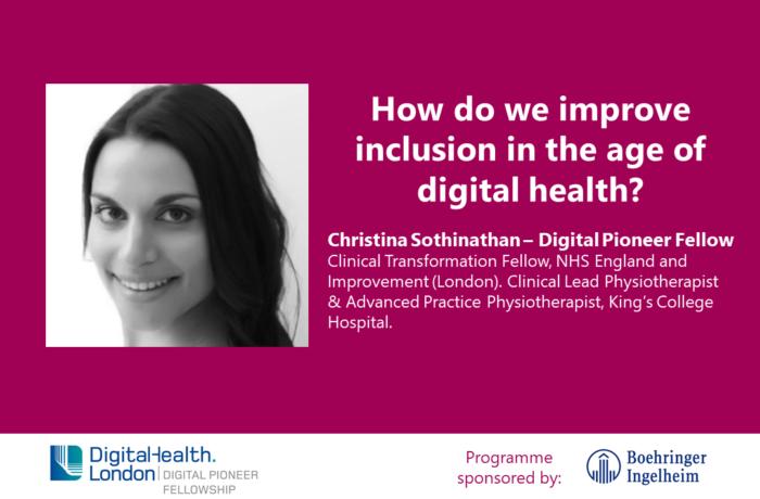 Christina Sothinathan Digital Pioneer Fellowship