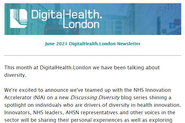 DigitalHealth.London June Newsletter