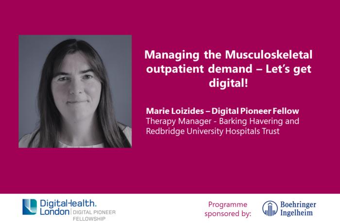 Digital Pioneer Fellow Marie Loizides